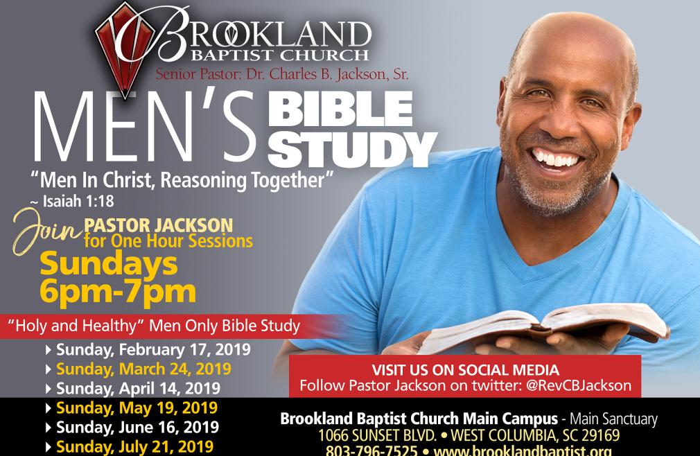 Men's Study with Pastor Jackson