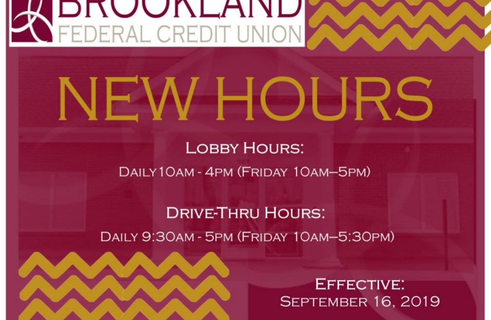 Credit Union New Hours