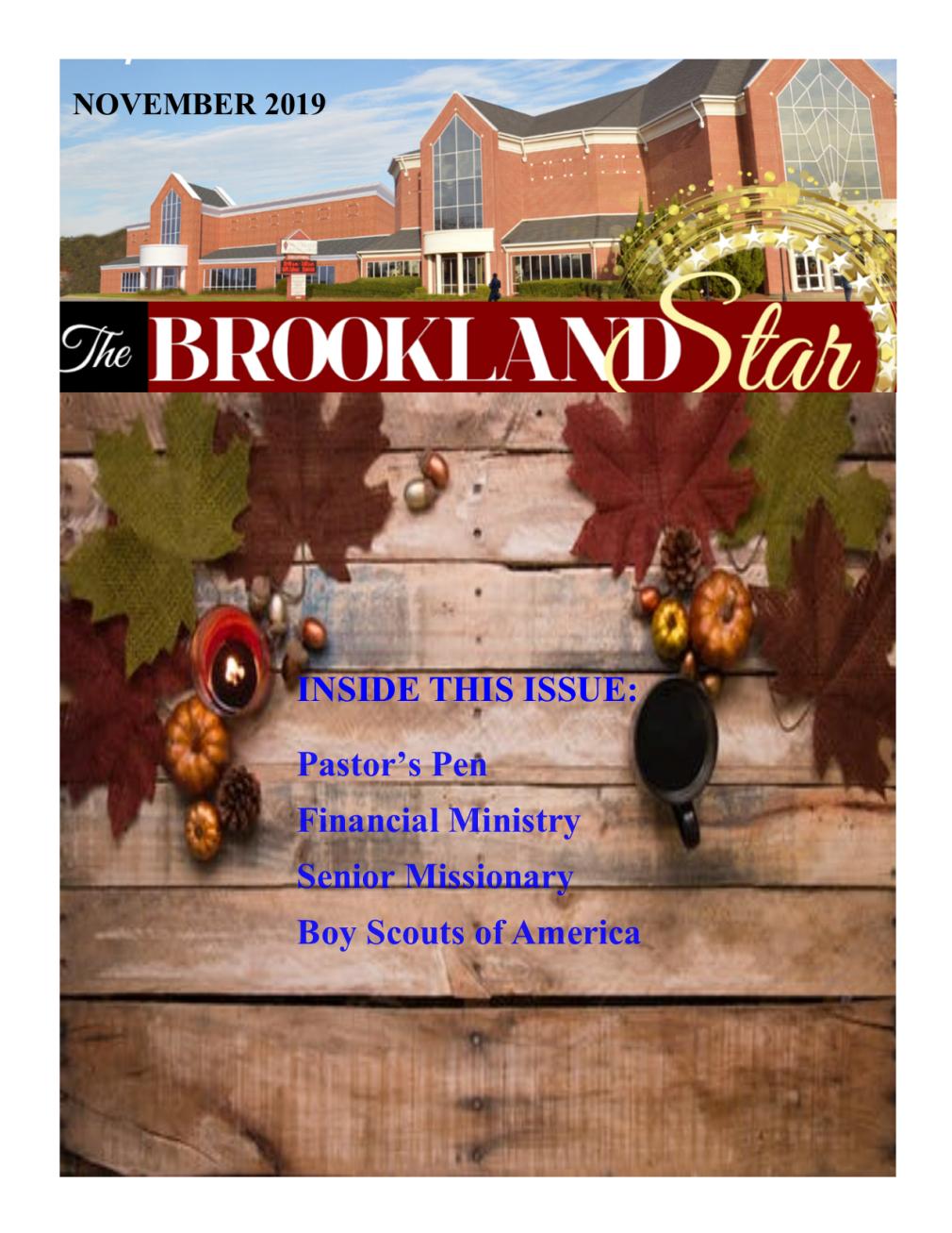 The Brookland Star November 2019 Edition