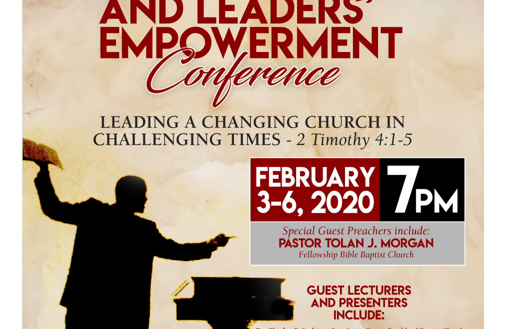Young Pastors' And Leaders' Empowerment Conference