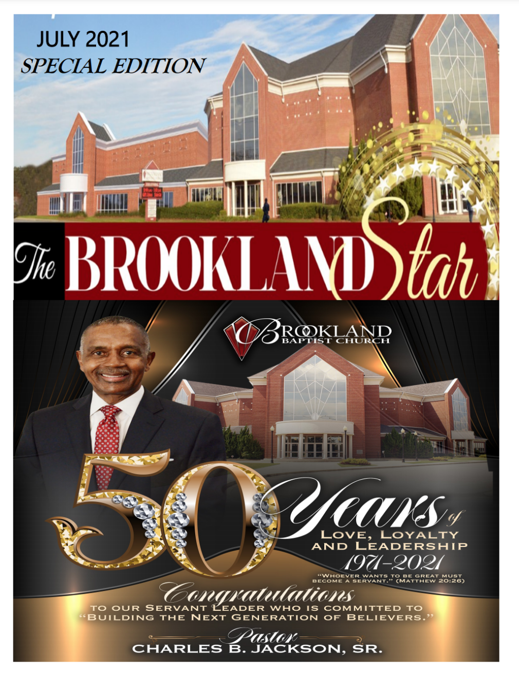 The Brookland Star July 2021 Edition