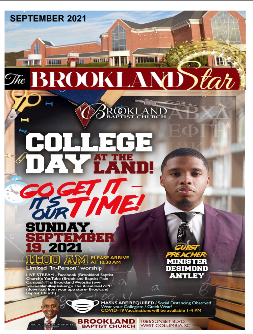 The Brookland Star September 2021 Edition